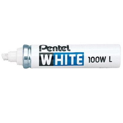펜텔 100W-L 유리 금속 플라스틱용 화이트 마카