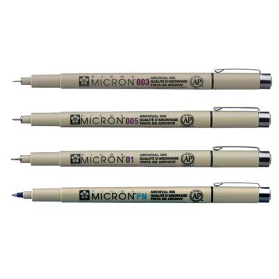 사쿠라 피그마 마이크론 드로잉 중성펜