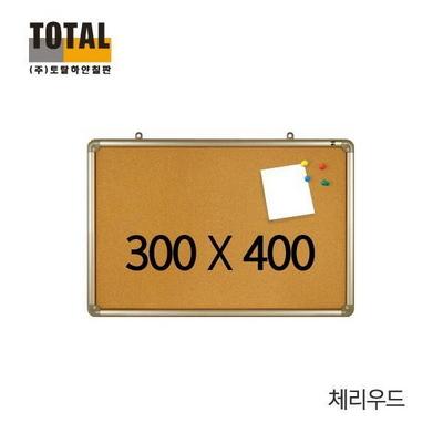 토탈 콜크 체리우드 게시판 300X400