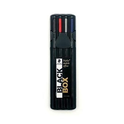 스테들러 블랙박스 트리플러스 샤프 볼펜 수성펜 형광펜 오피스세트 34SB4B