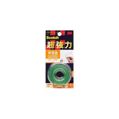 3M 스카치 초강력 투명 폼 양면테이프 KTD-19