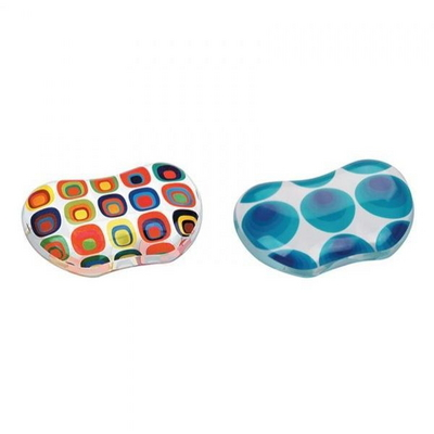 펠로우즈 미니젤 마우스 손목받침대 블루서클 90060