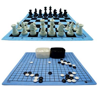 명인랜드 체스 바둑 대형세트 MC182 천 보드게임