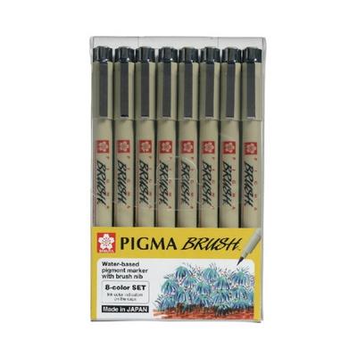 사쿠라 피그마 마이크론 잉크펜 8본세트 드로잉