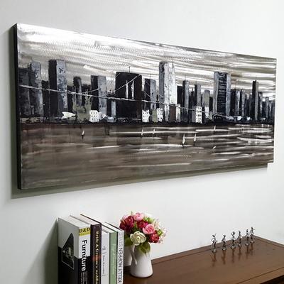 뉴욕도시풍경 캔버스 유화 벽걸이 인테리어 거실 그림액자