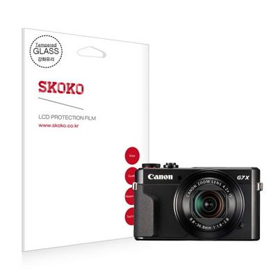 캐논 파워샷 G7X mark2 강화유리 카메라 액정보호필름 (1매)