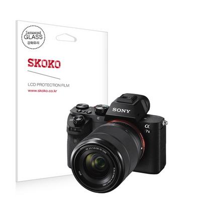 소니 알파 A7M2(A7 ll) 강화유리 카메라 액정보호필름 (1매)