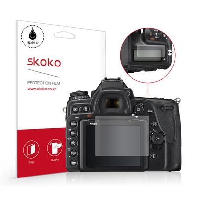 니콘 D780 올레포빅 카메라 액정보호필름 2매 + 상단 1매