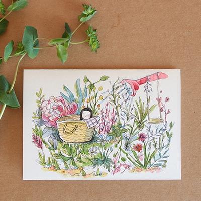 축하카드_ little garden