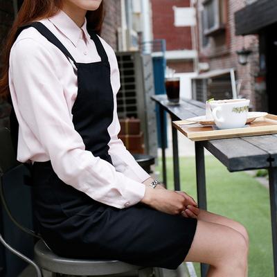 H라인 카페 앞치마