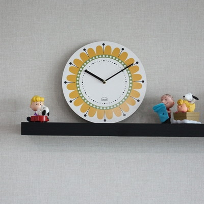 BEZIT -  부자되는 해바라기 무소음벽시계