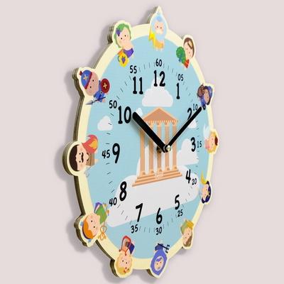 원더타임시리즈-올림포스 12신 무소음 벽시계