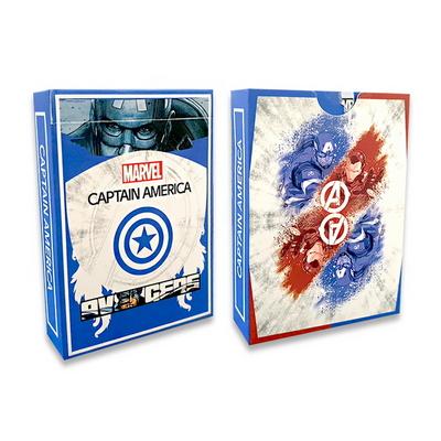 (신기한마술카드)캡틴아메리카 스트리퍼덱