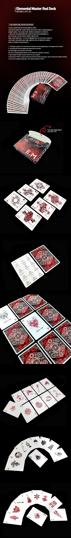 턱케이스_엘리멘탈마스터 플레잉카드 - 제이엘, 18,000원, 카드마술, 카드마술