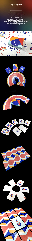 카디스트리_페이퍼킹스 플레잉카드 - 제이엘, 15,000원, 카드마술, 카드마술