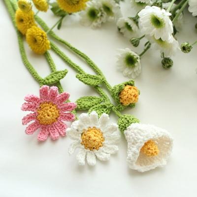 꽃갈피 카라 북마크