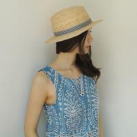 herringbone panama hat