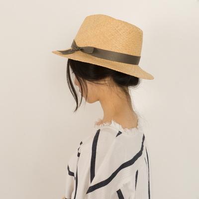 mannish panama hat (5color)