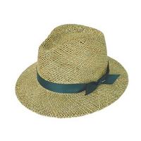 mesh safari panama hat (6 ribbon color)