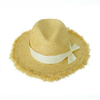 vintage fedora hat (2 ribbon color)
