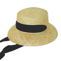 bao strap cloche hat (2 ribbon color)