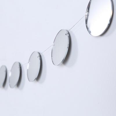The Mirrors 샤인문 B 미러 원형 가랜드