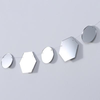 The Mirrors 샤인 유니버스 미러 원형 가랜드