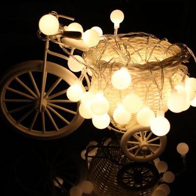 보아스 앵두트리전구(다루기쉬운 건전지형)LED(웜 화이트)