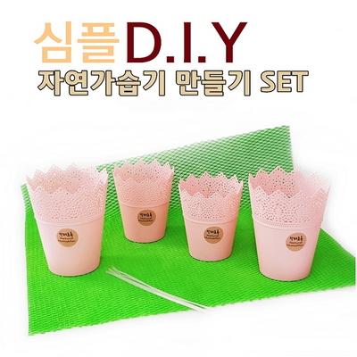 심플 D.I.Y 자연가습기 만들기 세트 - 원컬러