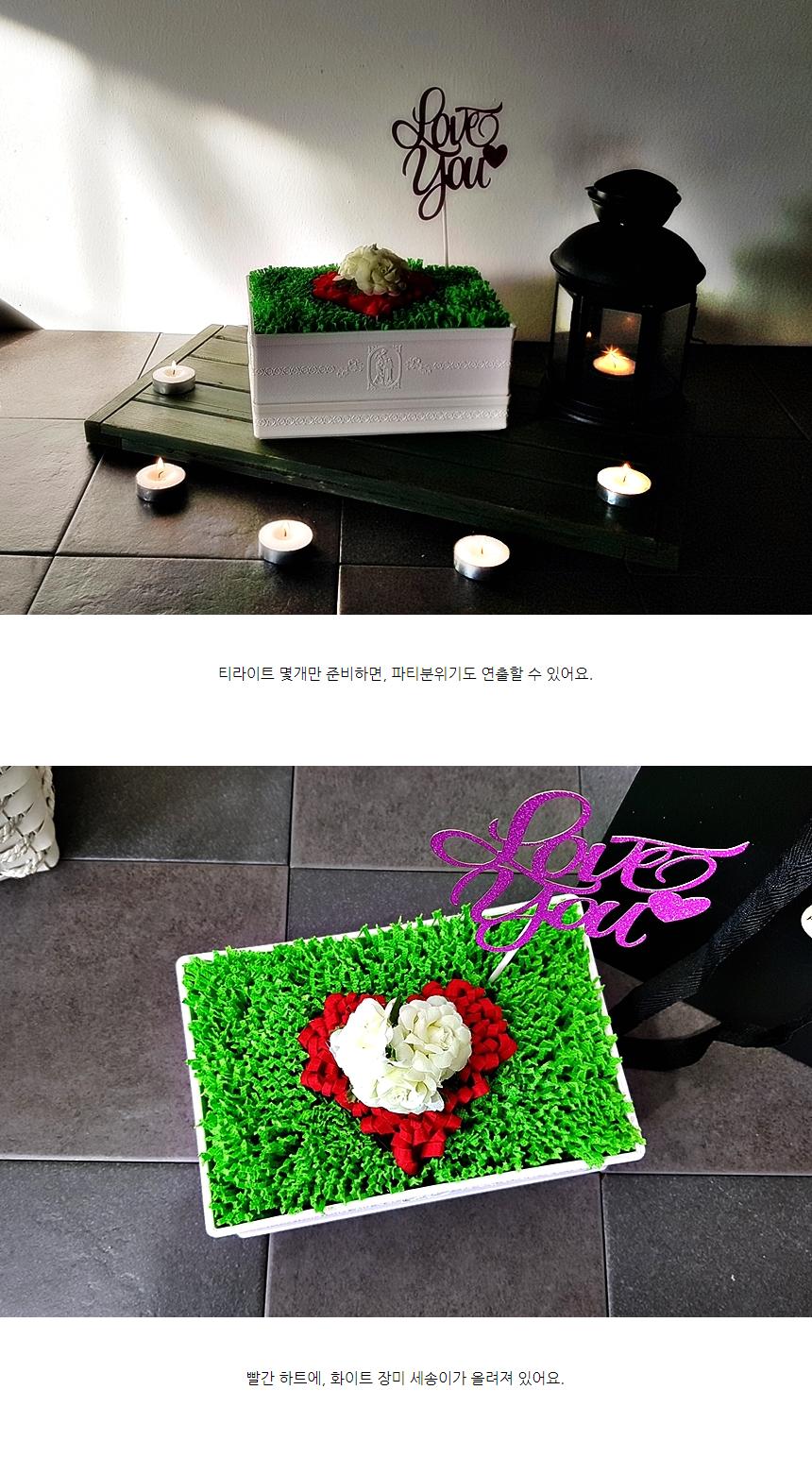 하트장미 용돈박스 플라워 가습기 부모님선물 - 풀초, 20,000원, 조화, 플라워박스