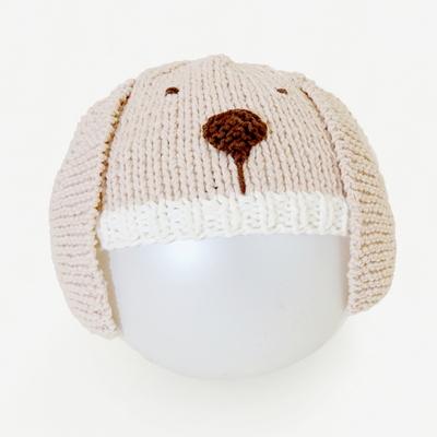 니팅 키트 - 신생아 강아지모자