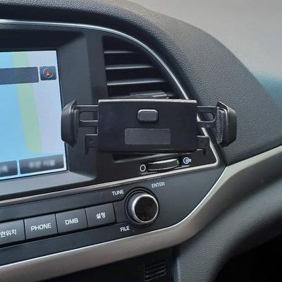 차량용 송풍구 원터치 스마트폰 거치대
