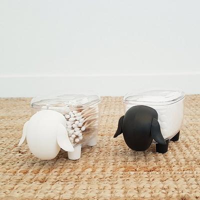 아가양 아기코끼리 화장솜 면봉케이스