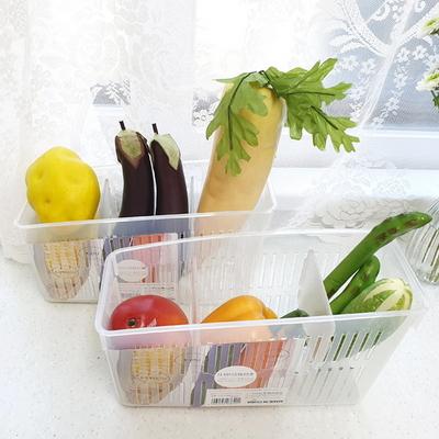 냉장고 야채 보관 정리함 투명