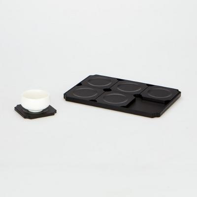 TP2315  알루미늄 합금 차판 겸용 잔받침