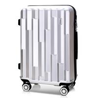 토부그 376 실버 24인치 수화물용 폴리카보네이트 캐리어 여행가방