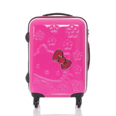 헬로키티 KCT118 사쿠라 핑크 18인치 기내용 캐리어 여행가방