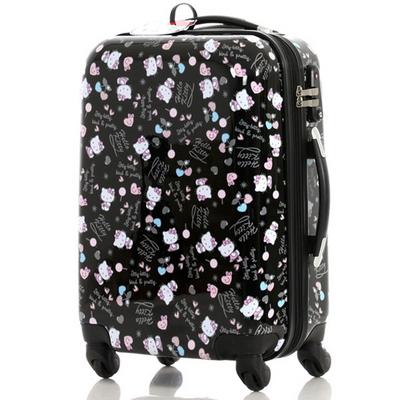 헬로키티 KCL-1024PK 핑크 24인치 수화물용 캐리어 여행가방