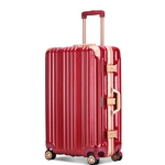 토부그 TBG796 레드 20인치 기내용 캐리어 여행가방