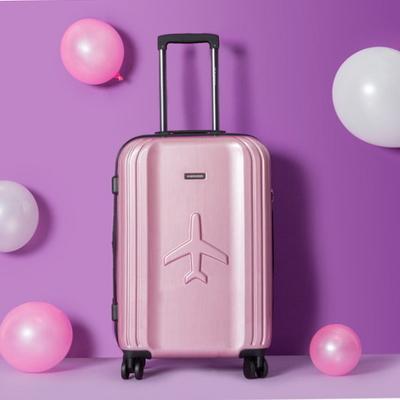 비아모노 VAHS9071 핑크 20형 기내용 캐리어 여행가방