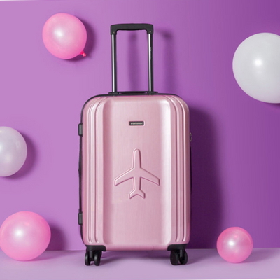 비아모노 VAHS9072 핑크 24형 수화물용 캐리어 여행가방