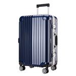 프레지던트 T604 네이비 26형 수화물용 캐리어 여행가방