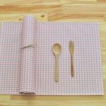 시크체크 방수식탁매트(인핑)