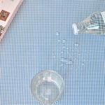 베이비체크 방수식탁보(블루)