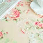 스칼렛 방수식탁보(핑크)