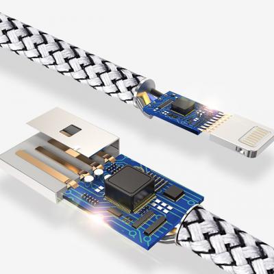 C타입 USB LED 고속충전 케이블 30cm