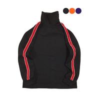 Velvet Line Turtleneck T-shirt(3color)(unisex)