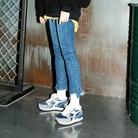 Button High-rise Cigarette Jeans(여성용)