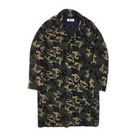 Camo Teddy Oversize Coat (UNISEX)