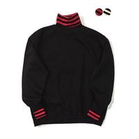 기모Stripe Turtleneck Sweatshirt(2color)(unisex)